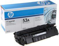 Заправка картриджа HP 53a (Q7553A)
