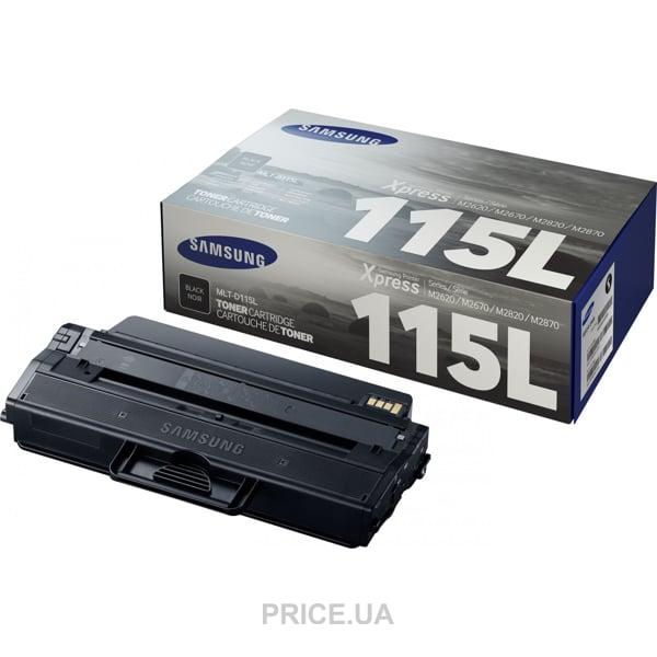 Заправка картриджа Samsung 115L (MLT-D115L) для аппаратов Xpress ser / SL-M2620, Xpress ser / SL-M2670, Xpress ser / SL-M2820, Xpress ser / SL-M2830, Xpress ser / SL-M2870, Xpress ser / SL-M2880