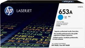 Заправка картриджа CF321A HP 653A Тонер-картридж голубой