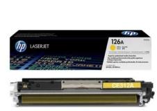 Заправка CE312A HP 126A Тонер-картридж желтый