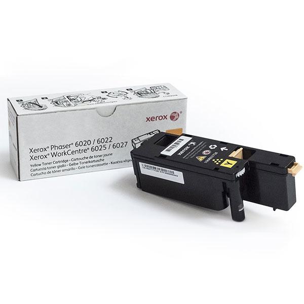 Заправка 106R02760 XEROX Тонер-картридж голубой для аппаратов Xerox Phaser 6020 6020Bl 6022 6022Nl WorkCentre 6025 6025Bl 6027 6027Nl
