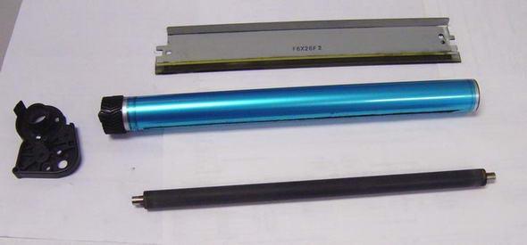 Дефекты при монохромной лазерной печати