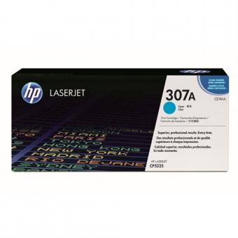 Заправка картриджа HP 307A, голубой (CE741A) (для HP CP5220 / 5225)