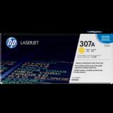 Заправка картриджа HP 307A, желтый (CE742A)  (для HP CP5220 / 5225)